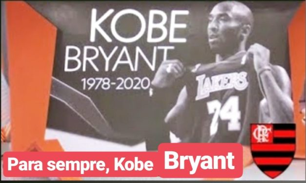 Jogadores do Flamengo prestam homenagem a Kobe Bryant