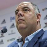 """Marcos Braz fala sobre """"ajuste final"""" com Gabigol, saída de Piris e reforços na lateral direita"""