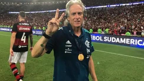 Jorge Jesus é o segundo técnico europeu que fatura a Libertadores e a Recopa Sul-Americana em toda história