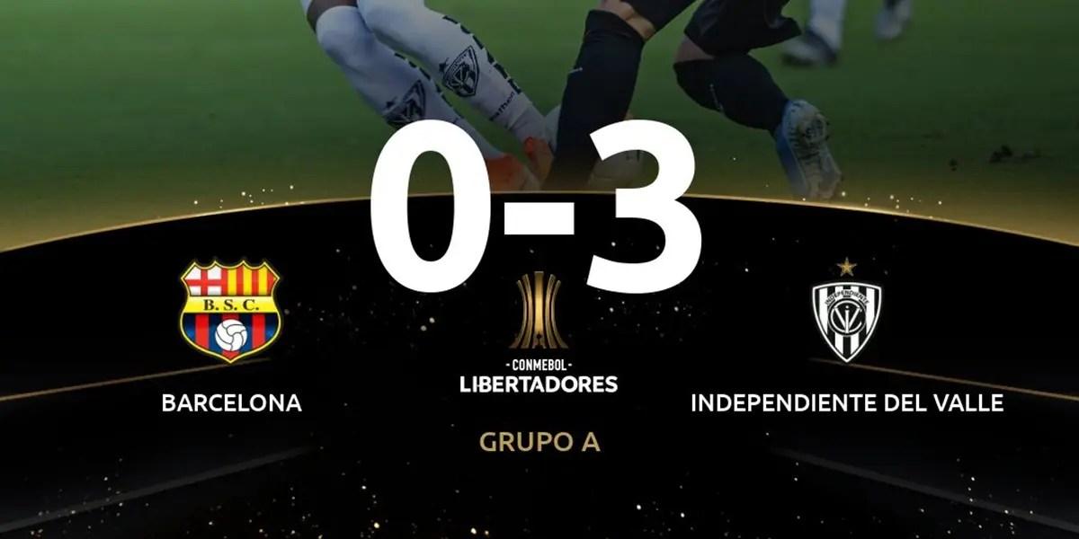Pelo grupo do Flamengo na Libertadores, del Valle estreia com vitória fora de casa