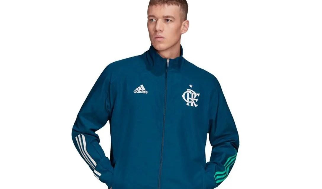 Confira casacos e outros agasalhos do Flamengo com desconto