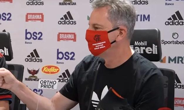 Presidente do Flamengo revela que temporada será estendida até janeiro de 2021
