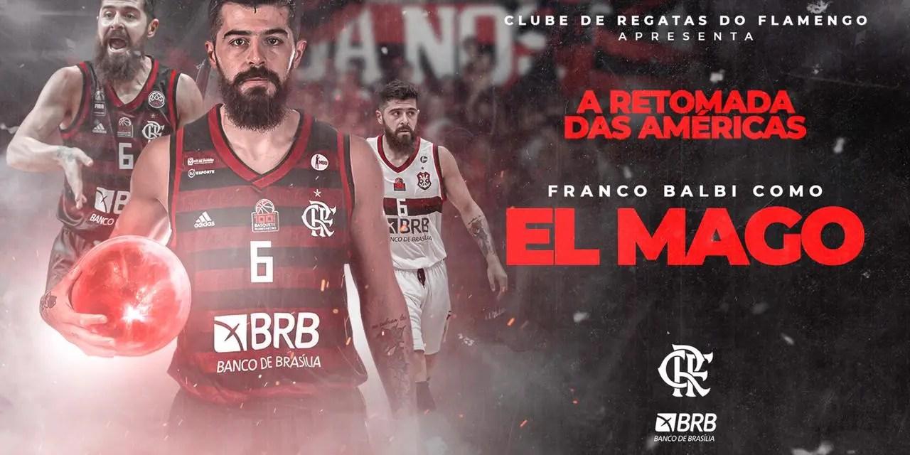 Flamengo confirma permanência de Franco Balbi no basquete