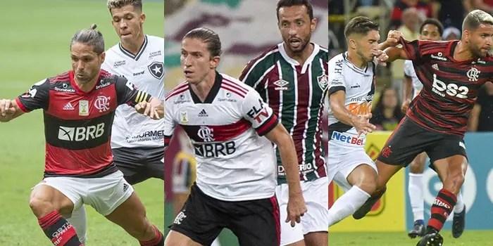 Flamengo é completamente soberano nos clássicos no Rio; veja números