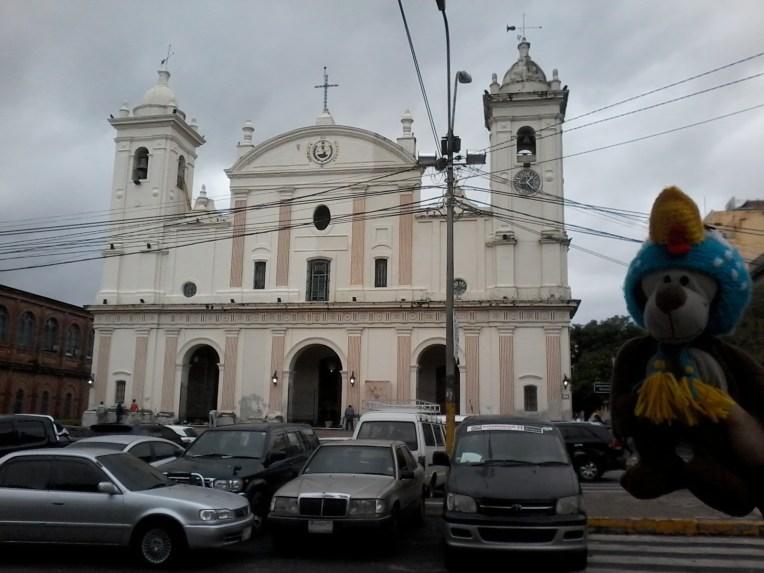 Mucuvinha na catedral metropolitana de Assunção.