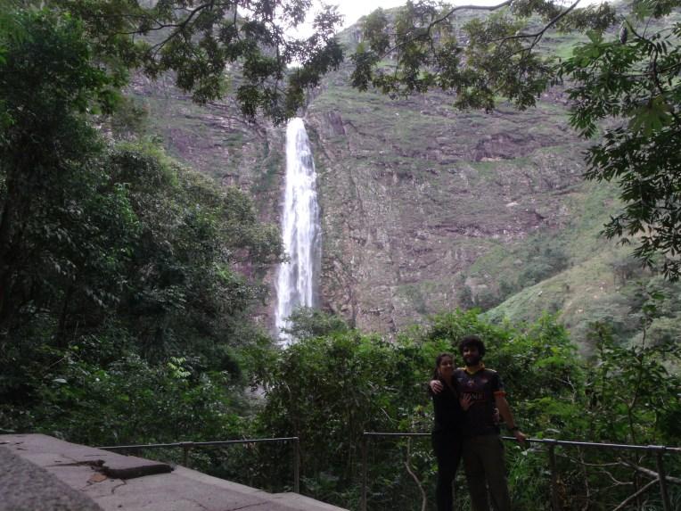 Parte baixa da cachoeira Casca d'Anta, que pode ser facilmente acessada a partir da cidade de São José do Barreiro.