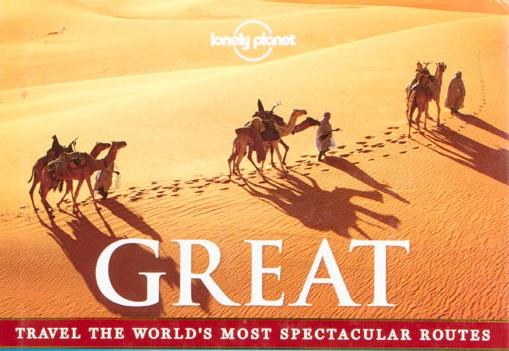 Capa do livro Grandes Viagens, do Lonely Planet
