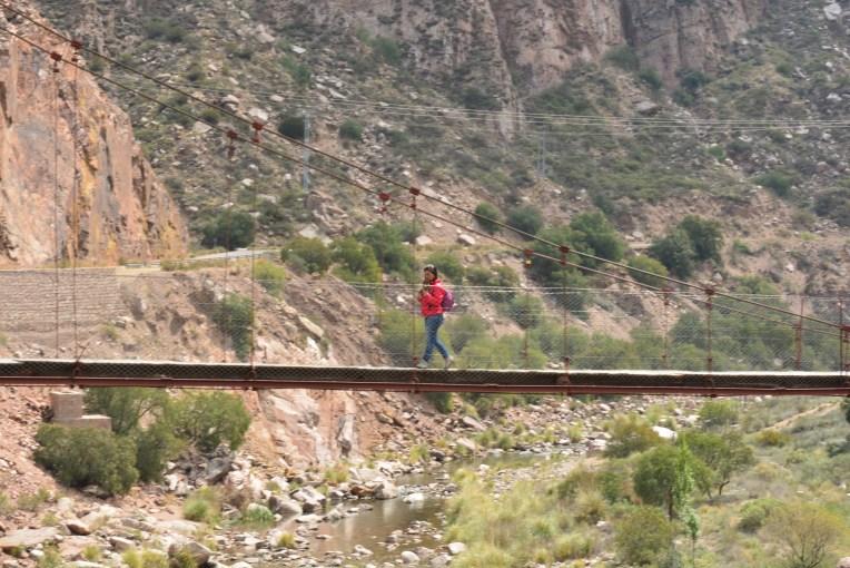 Ponte em Cacheuta, Mendoza