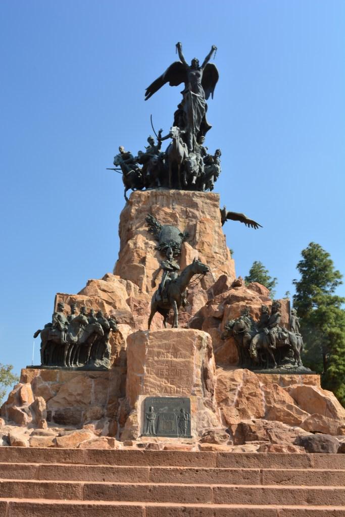 Cerro de la Gloria, monumento em Mendoza em homengem a San Martin.