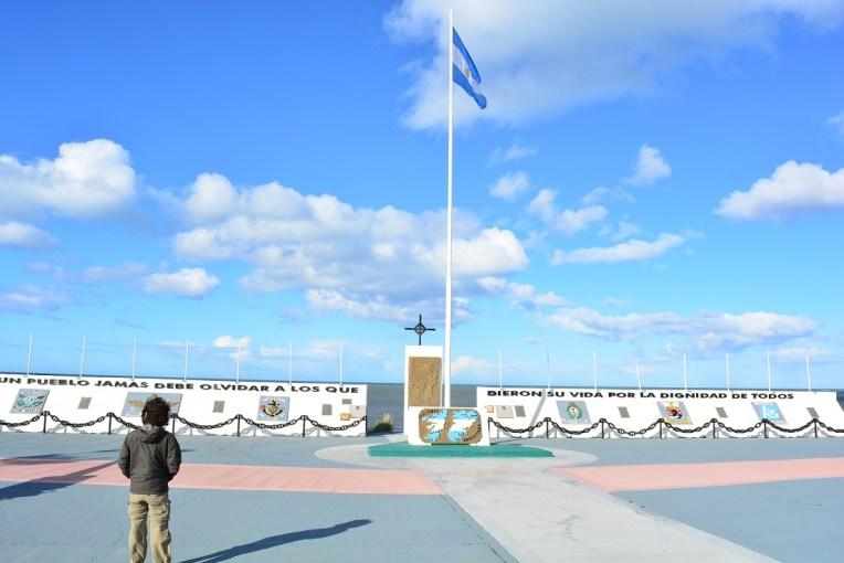 Memorial à Guerra das Malvinas, em Rio Grande, Terra do Fogo