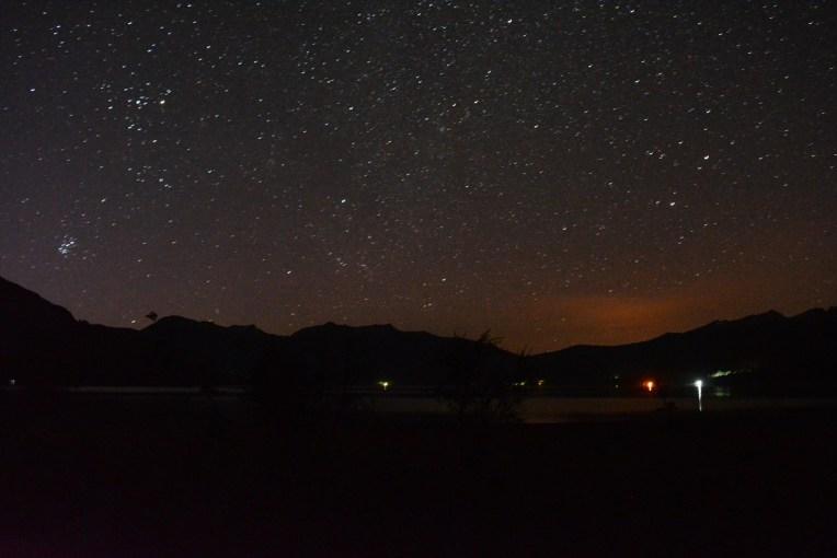 Noite no Parque Nacional Los Alerces