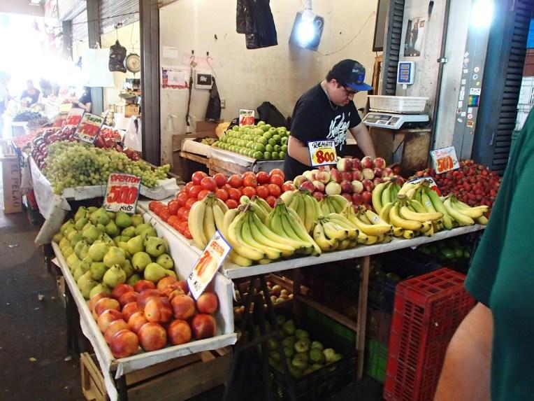 Mercado de frutas de Santiago