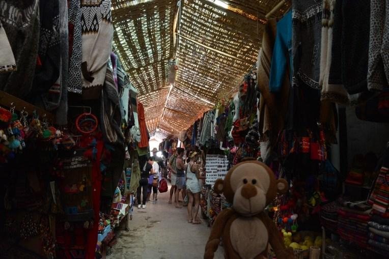 Mucuvinha na feirinha de artesanatos de San Pedro de Atacama