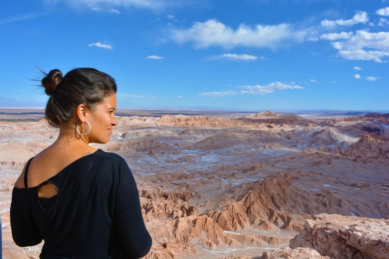Michele no Deserto do Atacama