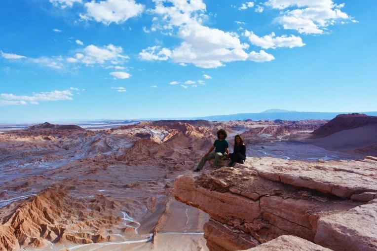 Piedra del Coyote, no Valle de la Luna, Atacama