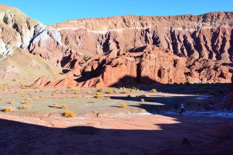 O Valle del Arcoíris, no Atacama, parece Marte