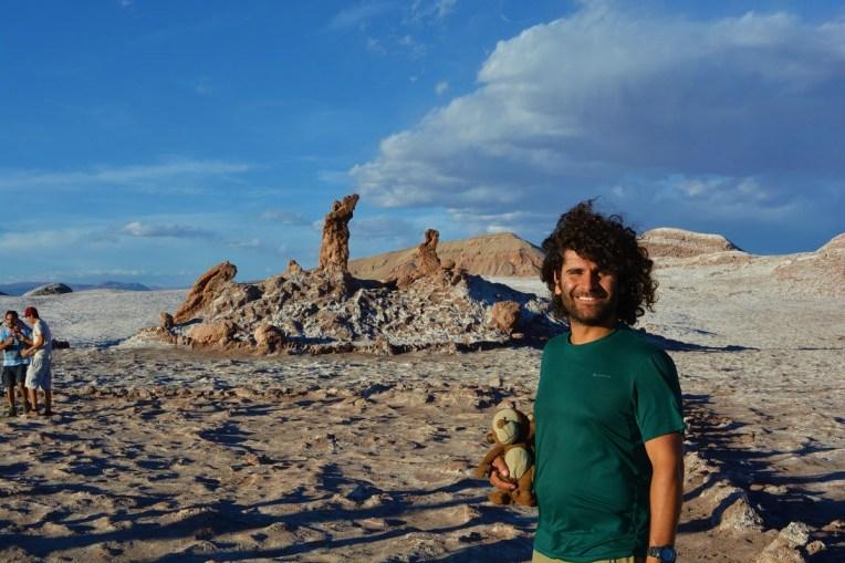 Três Marias, no Valle de la Luna, Atacama
