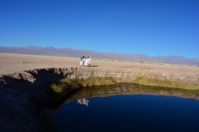 Ojos del Desierto, no Atacama