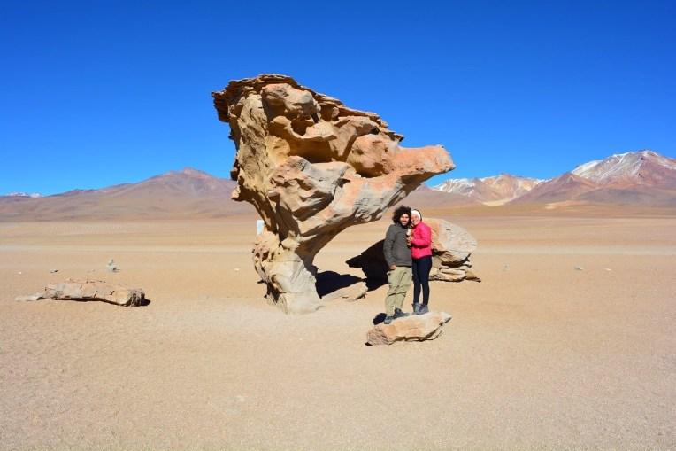 Árvore de Pedra no Deserto de Siloli