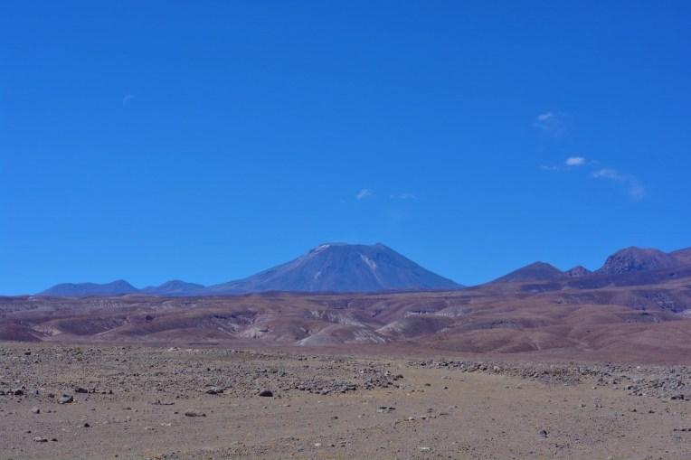 Vulcão Lascar, no Atacama