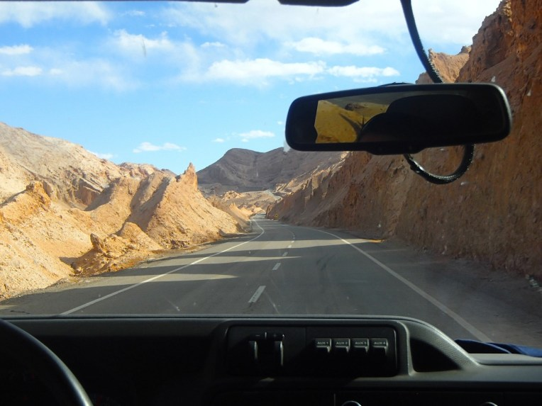 Valle de los Dinossaurios, na estrada para San Pedro de Atacama