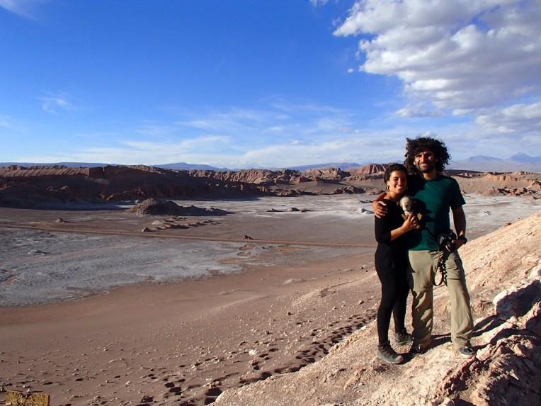 Valle de la Luna, no Atacama