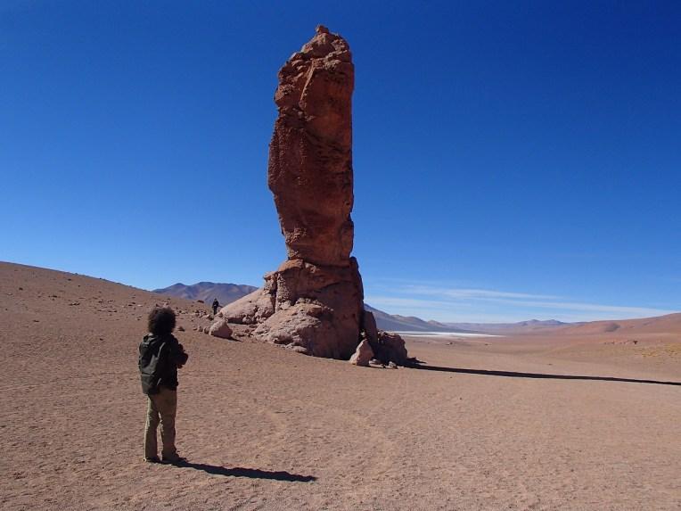Pedra do Índio, no Salar de Tara