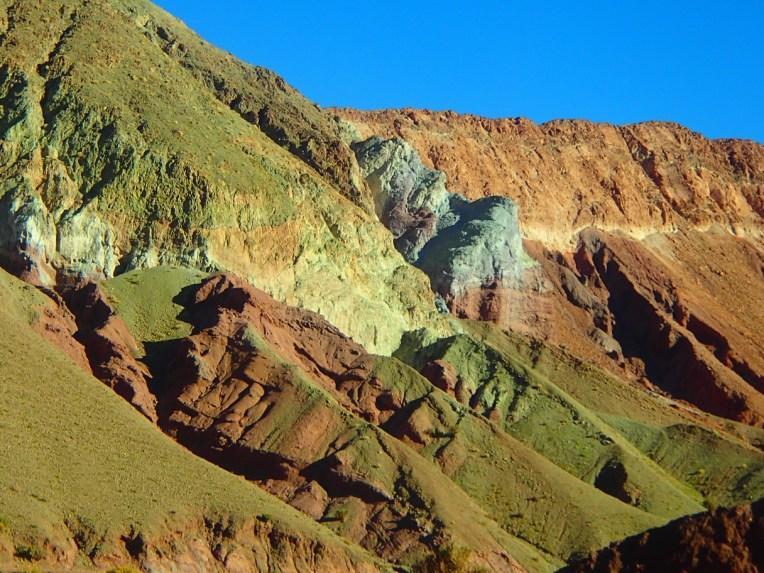 Vale do Arco-íris, no Atacama