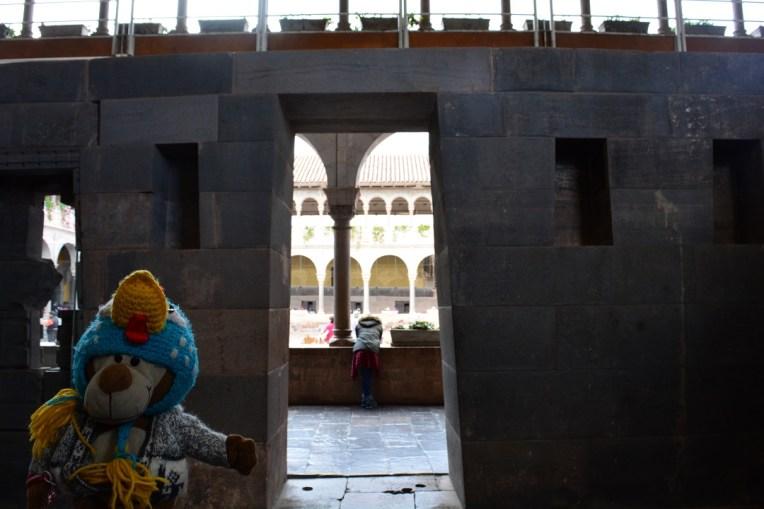 Mucuvinha em Qoricancha, Cusco