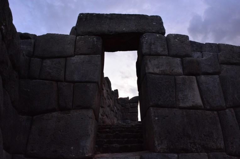 Porta do Sol em Saqsawamán