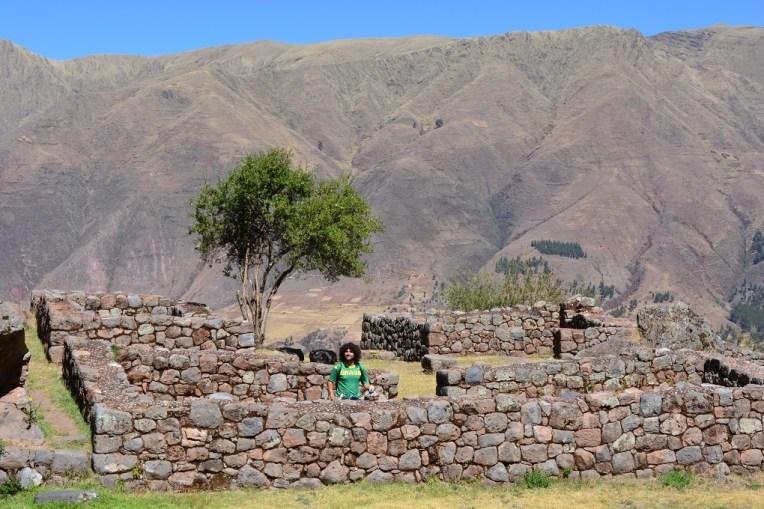Ruínas da cidade inca de Tipón