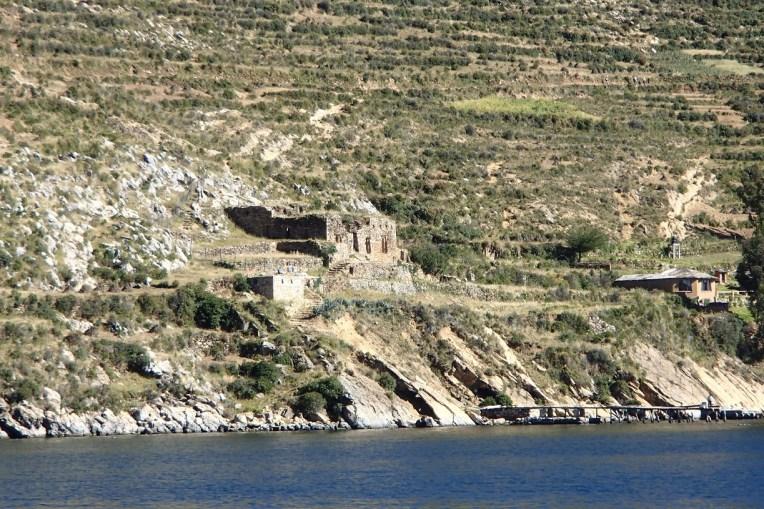 Templo do Sol, na parte sul da Isla del Sol