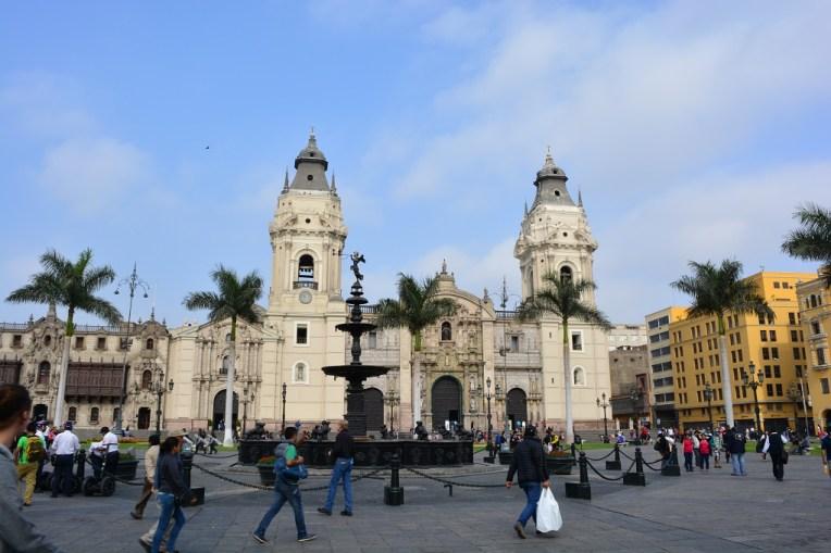 Catedral de Lima, a maior igreja do Peru
