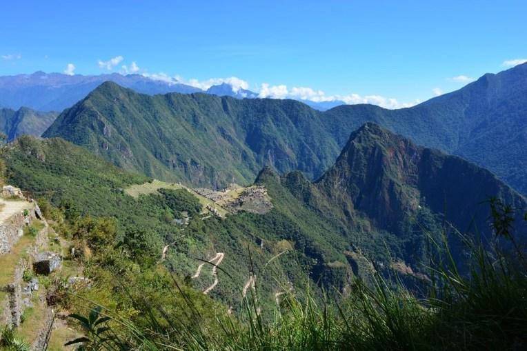 Vista de Machu Picchu a partir da Portada del Sol