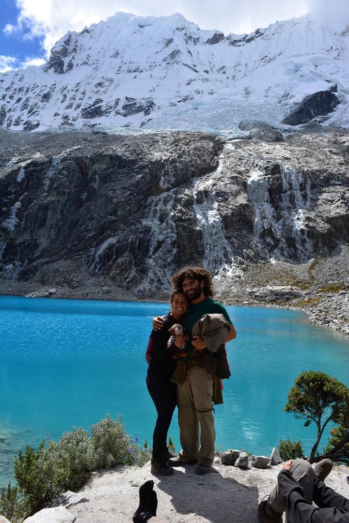 Não é a toa que a Laguna 69 é considerada uma das mais bonitas da América do Sul