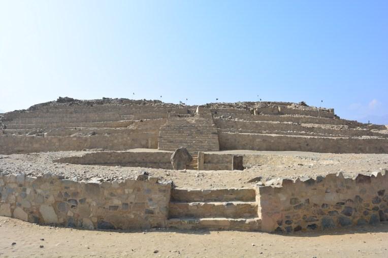 Templo religioso em Caral