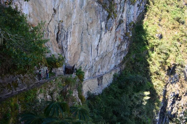 O caminho até a Puente Inca, em Machu Picchu