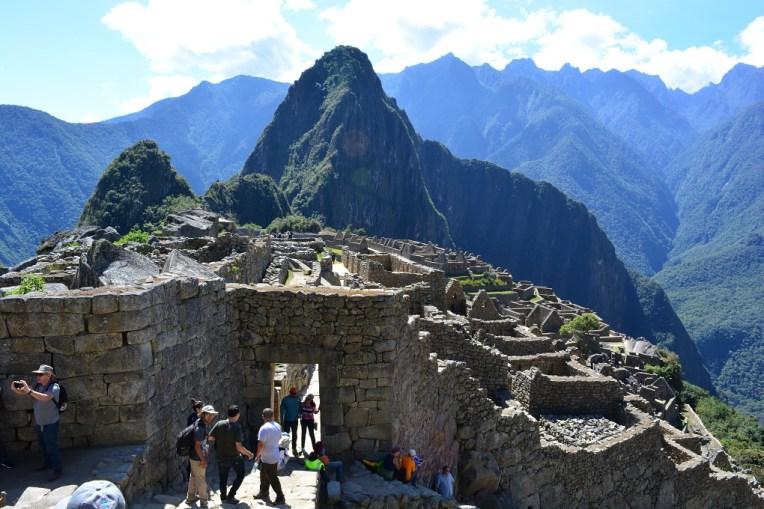 Portal de entrada para Machu Picchu