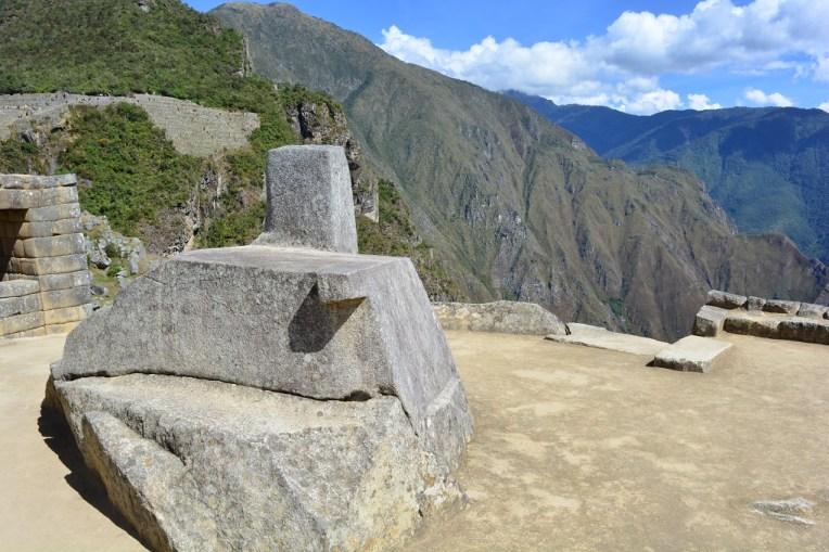Calendário em Machu Picchu.