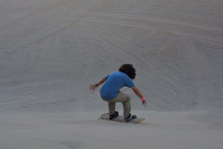 Sandboard em Huacachina