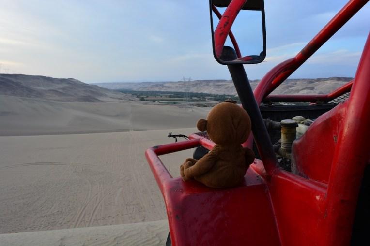 Passeando de bugguie pelo deserto de Nasca