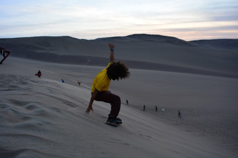Sandboard em Nazca