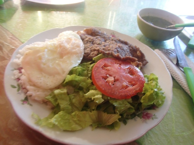 Prato típico boliviano