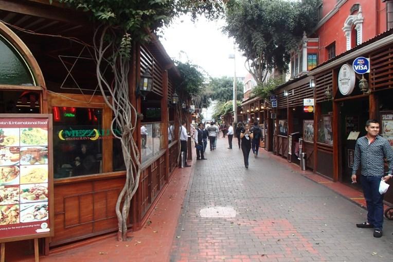 Miraflores, distrito chique de Lima