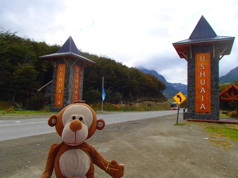 Mucuvinha na entrada do Ushuaia