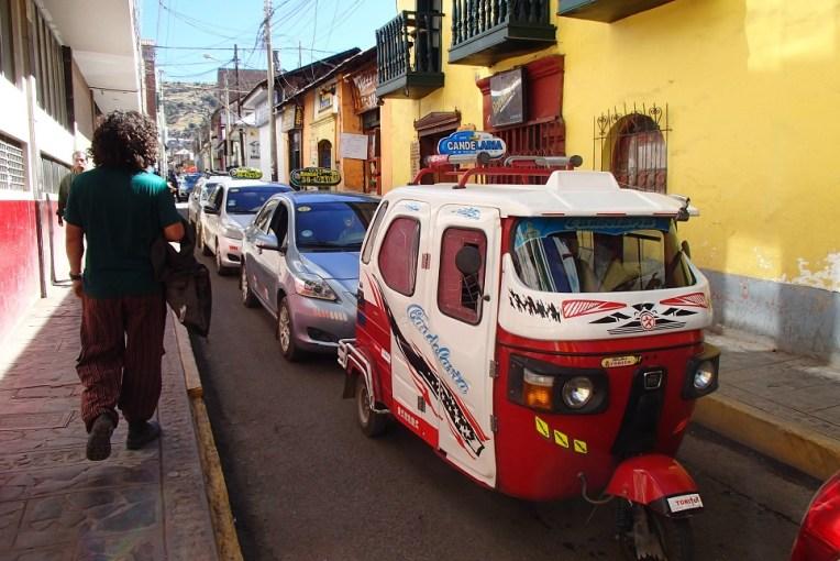 Moto-táxi em Puno