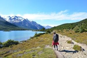 Mochilando no Parque Nacional Los Glaciares, Argentina