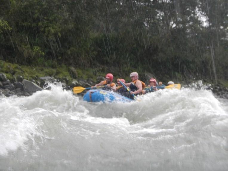 Rafting em Baños, Equador