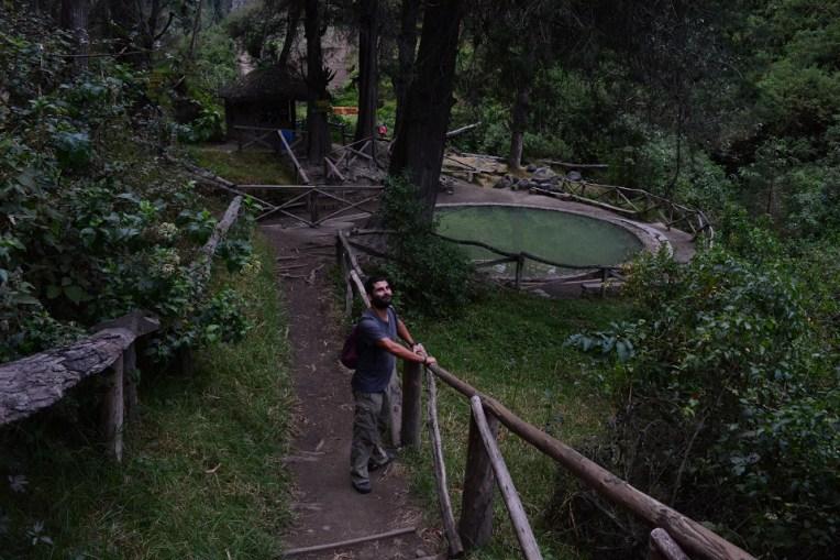 Uma piscina de Peguche