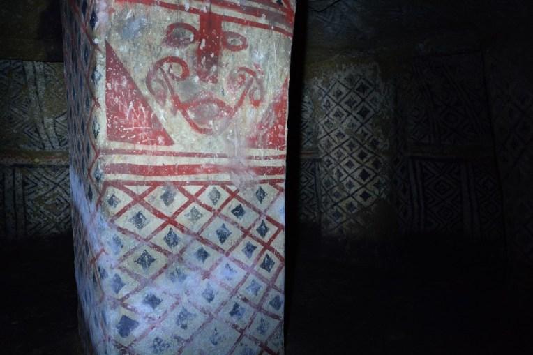 Pinturas nas paredes de San Andrés